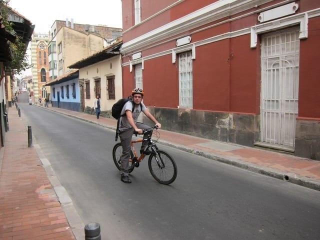 biking bogota